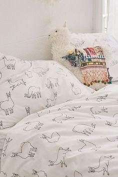 Shop Llamas Pillowcase Set at Urban Outfitters today. My New Room, My Room, Dorm Room, Alpacas, Llama Decor, My Living Room, Dream Bedroom, My Dream Home, Room Inspiration