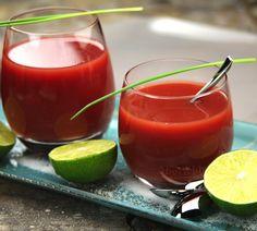 Pink Mojito - Envie de bien manger #recette #cocktail