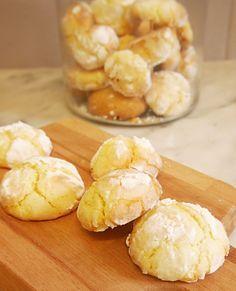 Crinkles au citron sans gluten