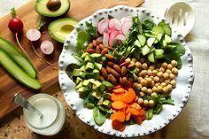 Vegetarian-chopped-salad-recipe From @aidamollenkamp