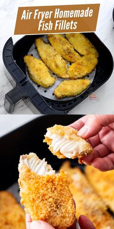 Fish Filet Recipes, Catfish Recipes, Fried Fish Recipes, Easy Fish Recipes, Salmon Recipes, Air Fryer Oven Recipes, Air Fry Recipes, Air Fryer Dinner Recipes, Air Fryer Cod Recipe