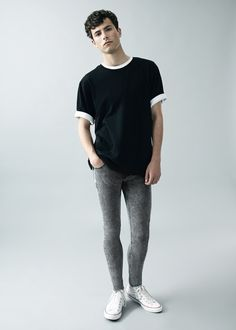 Topman denim - super spray on fit