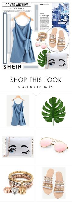 """SHEIN outfit"" by maiah-bee ❤ liked on Polyvore featuring WithChic"