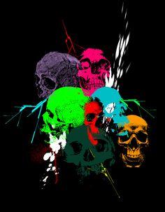 Skullplosion by imakebuckets
