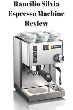 Product Overview  If you are looking for a commercial quality coffee maker for your house and if you don't mind about spending some money on the same, the Rancilio Silvia Espresso Machine is the right choice for you. Though the coffee maker is of traditional build, it looks very elegant and stylish at the same time. Let us understand more about this product in this section: Best Home Espresso Machine, Espresso Machine Reviews, Espresso Maker, Coffee Maker, Joe Coffee, Best Coffee, Coffee Beans, Commercial, Money