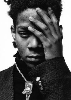 Jean Michel Basquiat by Jerome Schlomoff
