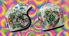 #dmd #vintage #moto #helmet #vision