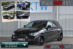 Black BMW E87