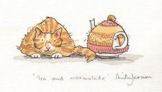 Tea and marmalade
