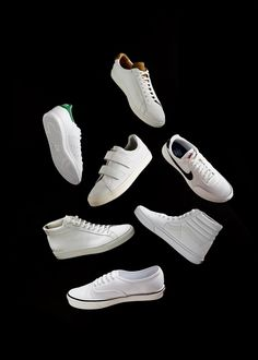 06f4ff69e3 Keeping your sneakers as bright white as the day you took them out of the  box