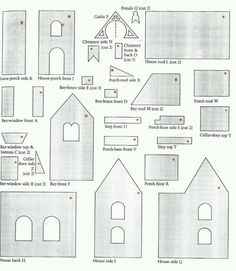 plantillas casa de jengibre - Buscar con Google