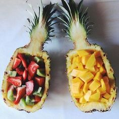 This would be super cute instead of the traditional fruit tray at a barbecue or summer party!
