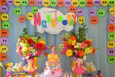 Comemore Arte Buffet: Explosão de cores com Lalaloopsy!