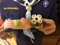 Pinewood Derby Car: Sushi To Go