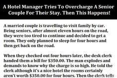 A Hotel Manager Tries To Overcharge A Senior Couple For Their Stay. Then This Happens!