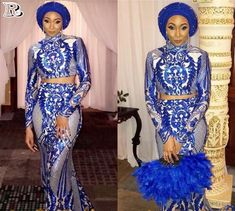 stunning styles with your aso ebi 2018 - Reny styles