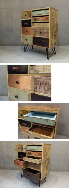 材質:回收木 / 金屬 /鉚釘尺寸:寬76cm*深* 35cm* 高94cm