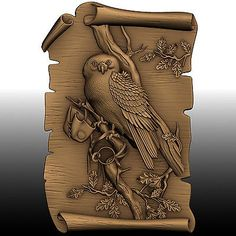 owl  3d portrait free download          download       File size:  51 MB Wood Carving Patterns, Wood Carving Art, 3d Portrait, Medieval Shields, 3d Art Drawing, Stl File Format, 3d Cnc, Leather Carving, Cnc Projects