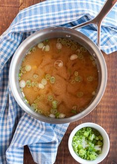 Say hello to your newest cold-weather best friend! Miso soup is that salty, savory broth, dotted with green scallions and silky tofu, served at most Japanese restaurants before the sushi trays arrive. Making it at home is one of the simplest and most satisfying ways to treat yourself during the frigid winter months. Here's how to make miso soup in just a few easy steps.
