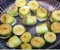 Anginares a la Polita Recipe (Greek artichoke hearts and potatoes with dill)