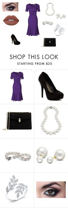 """""""Untitled #67"""" by b-bryant1816 on Polyvore featuring Michael Antonio, Bulgari, Bling Jewelry, Allurez, Anne Sisteron and Lime Crime"""
