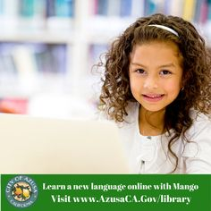 Use your Library card to learn a new language while #stayhome #staysafe is in effect.