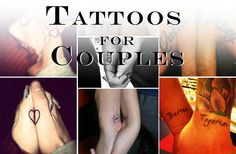 Tattoos for Couples | InkDoneRight  Out of all of the types of tattoos, some remain taboo even though the practice has become widely accepted. We are talking about Couples Tattoos...