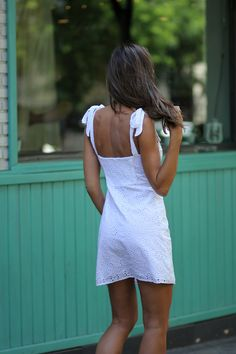 WHITE SUMMER DRESS - Lady Addict - StyleLovely