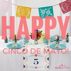 Margaritas, anyone? Fiesta like there's no mañana with these five unique Cinco de Mayo party ideas! Kate Aspen, Outdoor Parties, Party Ideas, Chic, Unique, Floral, Happy, Blog, Fun