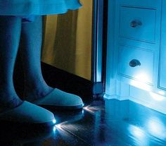 Cool products and gadgets Night Light Slippers