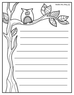 Fall Animals Coloring Pages Elegant Doodle Art Coloring Pages Fall Fall Doodles Doodle Pages Page Borders Design, Boarder Designs, Animal Coloring Pages, Coloring Book Pages, Kids Writing, Writing Paper, Mind Map Art, Write My Paper, Printable Lined Paper