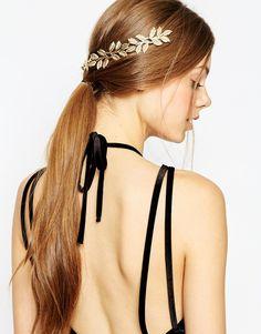 Image 1 - ASOS - Barrettes de cheveux avec feuilles pour occasions particulières