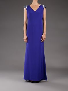 MARCHESA  Crepe dress