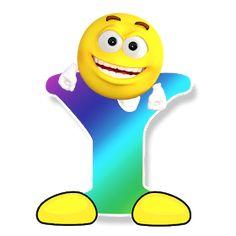 Letter Symbols, Alphabet And Numbers, Alphabet Letters, Smileys, Public Domain, Free Emoji Printables, Das Abc, Emoticon Faces, Smiley Emoji
