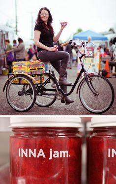 Bike-Delivered Organic Jam is the BEST!