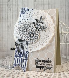 Stacey's Stamping Stage, Verve, Button Best, Be Blessed, Sprightly Sprigs, Teresa Collins, Freckled Fawn, Card, Sequins
