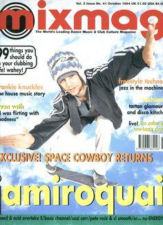 Mixmag (Issue 41) October 1994 - Jamiroquai