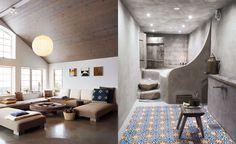 Badrummet till höger, hos Tobias Dahl & Emma Netterberg i Tellberg, Dalarna, Sverige, är nog det härligaste jag sett!