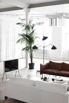 Inspiratieboost: woonkamers overgoten met daglicht - Roomed