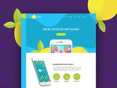 Lemon Tree : Colourful Website Template - http://freebiesjedi.com/2017/04/lemon-tree-colourful-website-template/