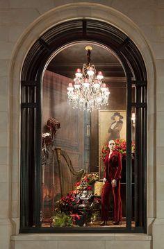 ralph lauren store windows | Retail store windows / Holiday windows at our Ralph Lauren store in ...