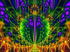 unique fractal art image