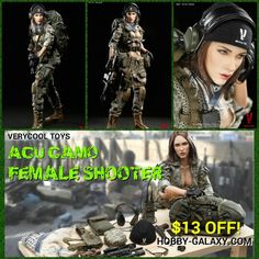 http://www.hobby-galaxy.com/verycool-toys-acu-camo-female-shooter-1-6-scale-action-figure-vcf-2026/ #sexy #verycool #sexybabes #femalesoldier #femalewarrior #soldiergirl #femaleshooters #militarywomen #militarywoman #onesixthscale #sexywoman #collectiblefigure #actionfigures #actionfigure #toy #toys