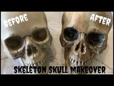 Skeleton Decorations, Diy Halloween Decorations, Halloween Crafts, Halloween Ideas, Outdoor Decorations, Halloween Skeletons, Halloween Skull, Scary Halloween, Halloween Town
