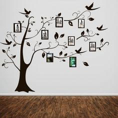 Adesivo de parede Árvore Porta Retratos