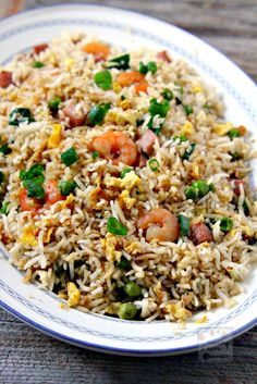 Easy and yummy way to make your favorite take-away Chinese Special Fried Rice. Y… Easy and yummy way to make your favorite take-away Chinese Special Fried Rice. Side Dish Recipes, Rice Recipes, Vegetable Recipes, Asian Recipes, Dinner Recipes, Cooking Recipes, Healthy Recipes, Ethnic Recipes, Chinese Recipes