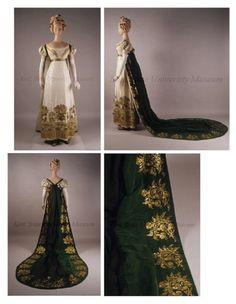 court dress 1810 | Found on ornamentedbeing.tumblr.com