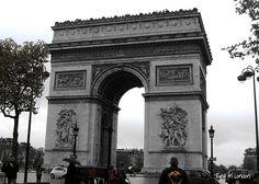 Arco do Triunfo #Paris