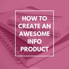 Pixel26 how to create an income producing info product eBook Blog post
