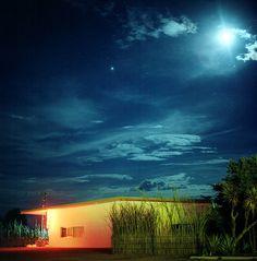 night. Marfa, TX